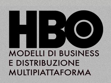 cover per il mio progetto di tesi sul modello di business della hbo