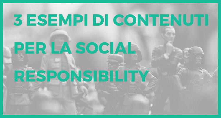 contentuti social responsibility